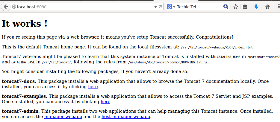 installing apache tomcat8 in linux